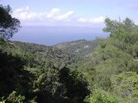 Hvar view to Brac