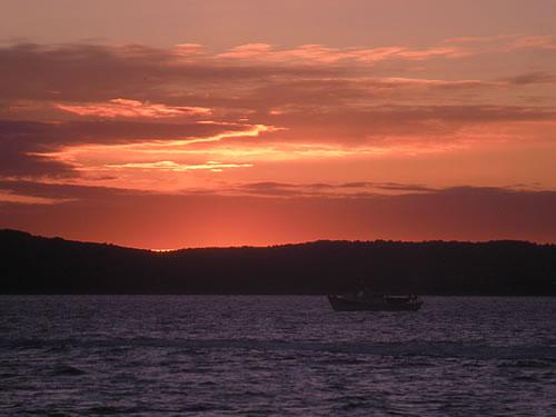 Sunset over Šolta