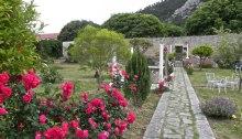 Hanibal Lučić summer residence - the garden