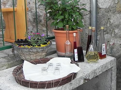 Home made liqueurs