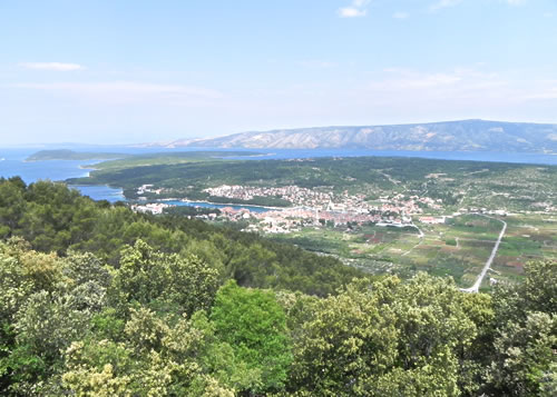 View towards Stari Grad