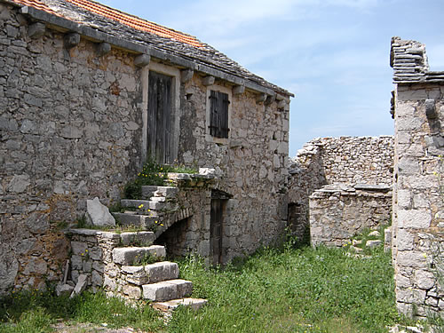 Traditional Dalmatian-style farmhouse