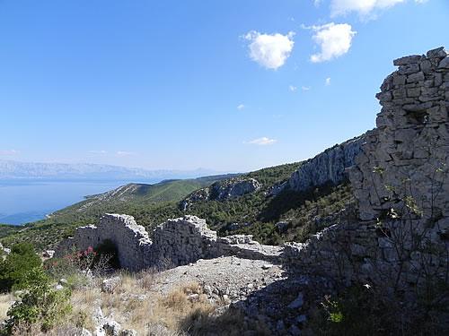 Galešnik walls