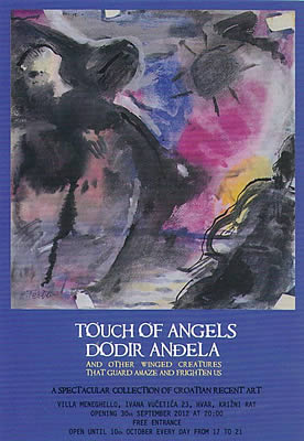 Touch of Angels art exhibition