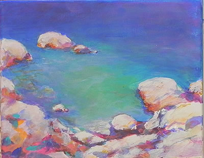 Painting rocks #1