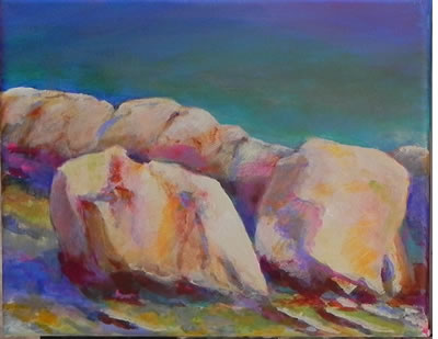 Painting rocks 3