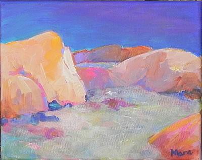 Painting rocks! #7