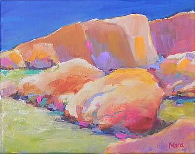 Painting rocks! #8