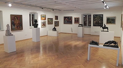 Gallery Upper floor