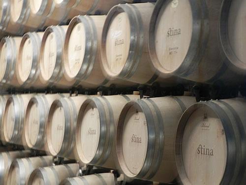 Barrique barrels from US or Slavonian oak