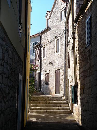 Back street steps
