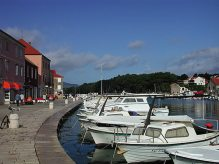 The waterfront at Stari Grad