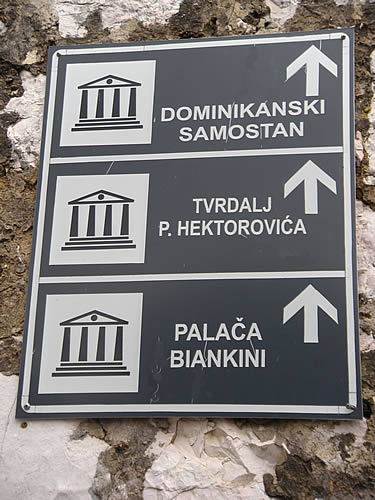 Follow the signs!