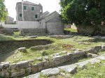 Greek foundations under an early Christian church