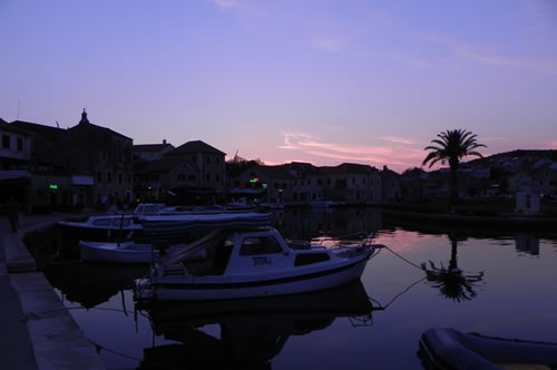 Dusk on the waterfront