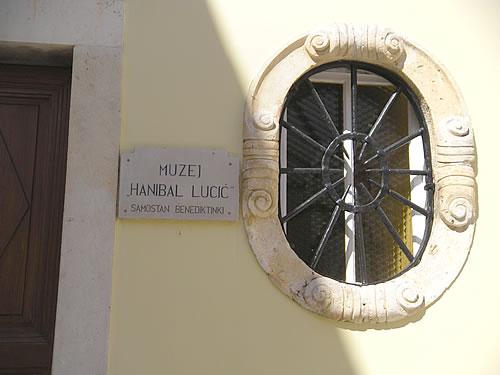 The Lučić Museum at the Benedictine Convent