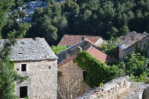 Malo Grablje houses