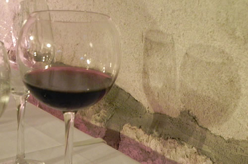 A glass of red!