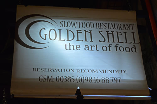 Golden Shell - the art of food!