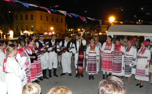 Folk group from Zagorje