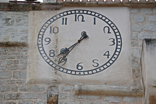 Clock of Sv Marija