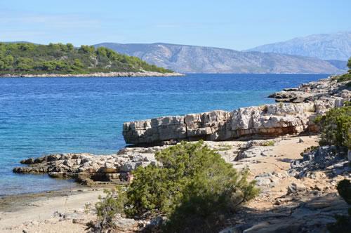 Northern shore of Glavice