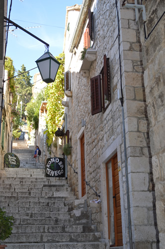 The streets of Hvar