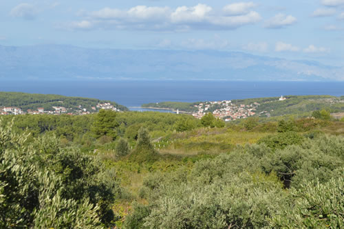 The glorious view over Jelsa