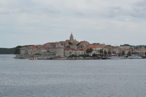 Korcula - the town