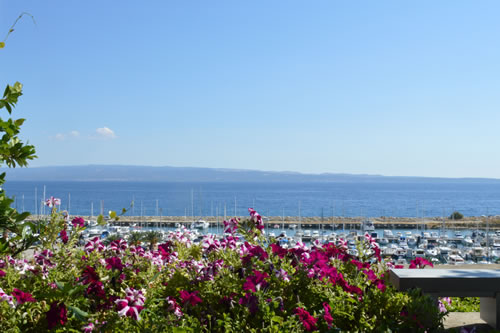 View out to the island of Brac