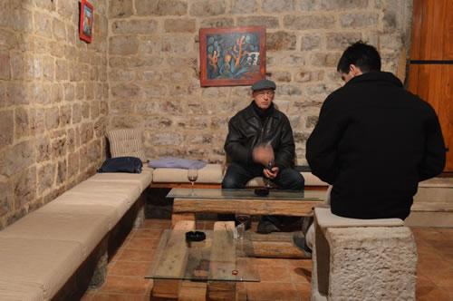 Vinarija Huljić tasting room