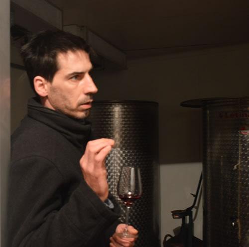 Winemaker Teo Huljiċ