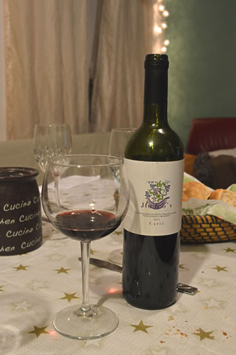 Caric Ju'bov wine