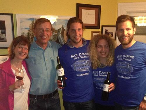 With the Miloš family