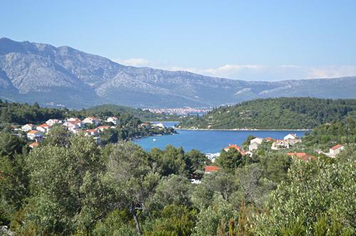 Lumbarda view
