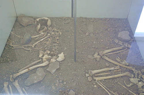 Skeletons from Vela Spila