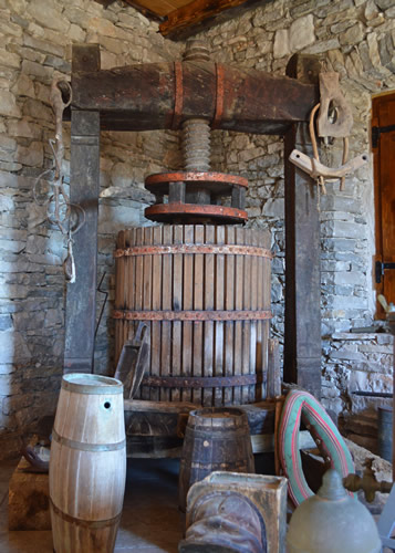 Antique wine-press