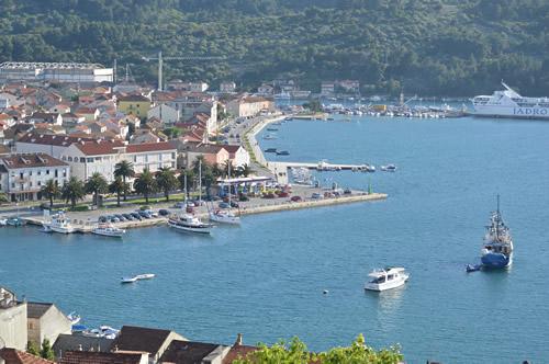 Vela Luka harbour