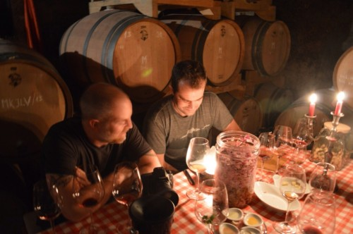 Michael Newsome and Eric Danch from Blue Danube Wine