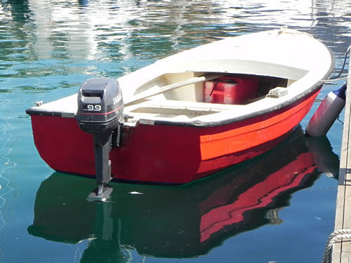Red dingy