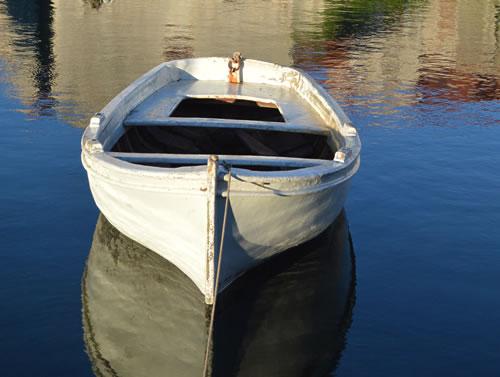Boat, Vrboska harbour