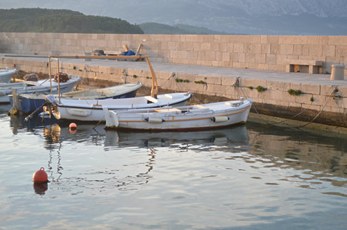 Boats in Lumbarda