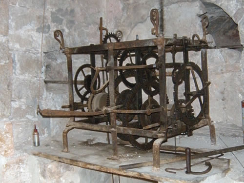 Clock works, Vrboska