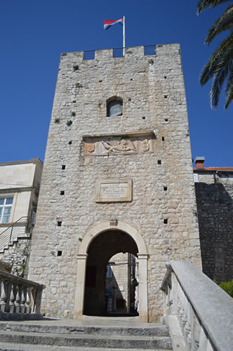 Old town gate, Korčula