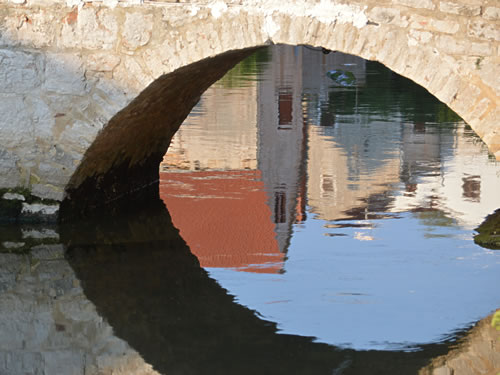 Vrboska reflections