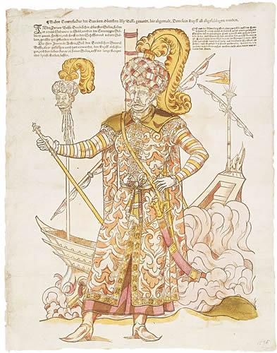 Ottoman fleet commander Ali Pasha