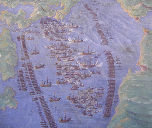 Battle of Lepanto plan