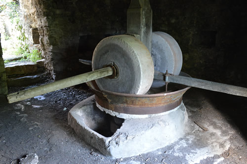 Olive mill, Malo Grablje