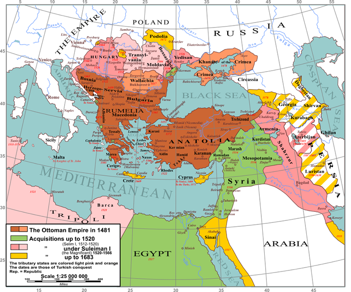Ottoman Empire expansion