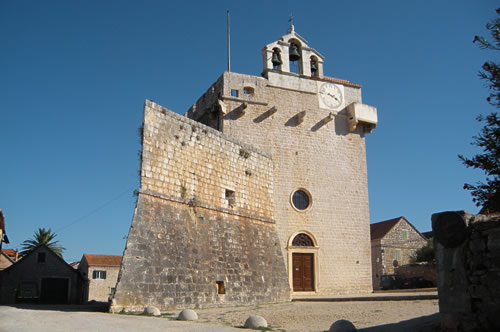 St Mary of Mercy in Vrboska